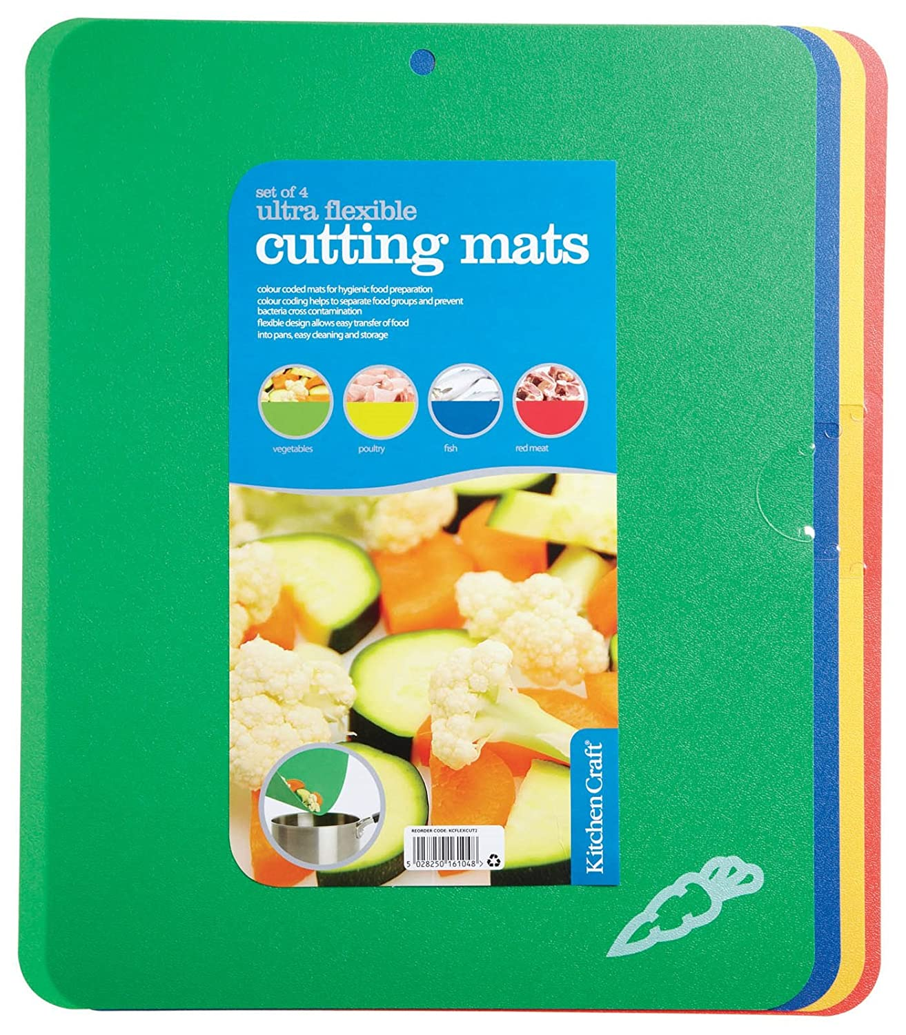 The item for sale is premier set of 5 coloured flexible chopping - Kitchencraft Flexible Colour Coded Chopping Boards 38 X 30 Cm Set Of 4 Multi Colour Amazon Co Uk Kitchen Home