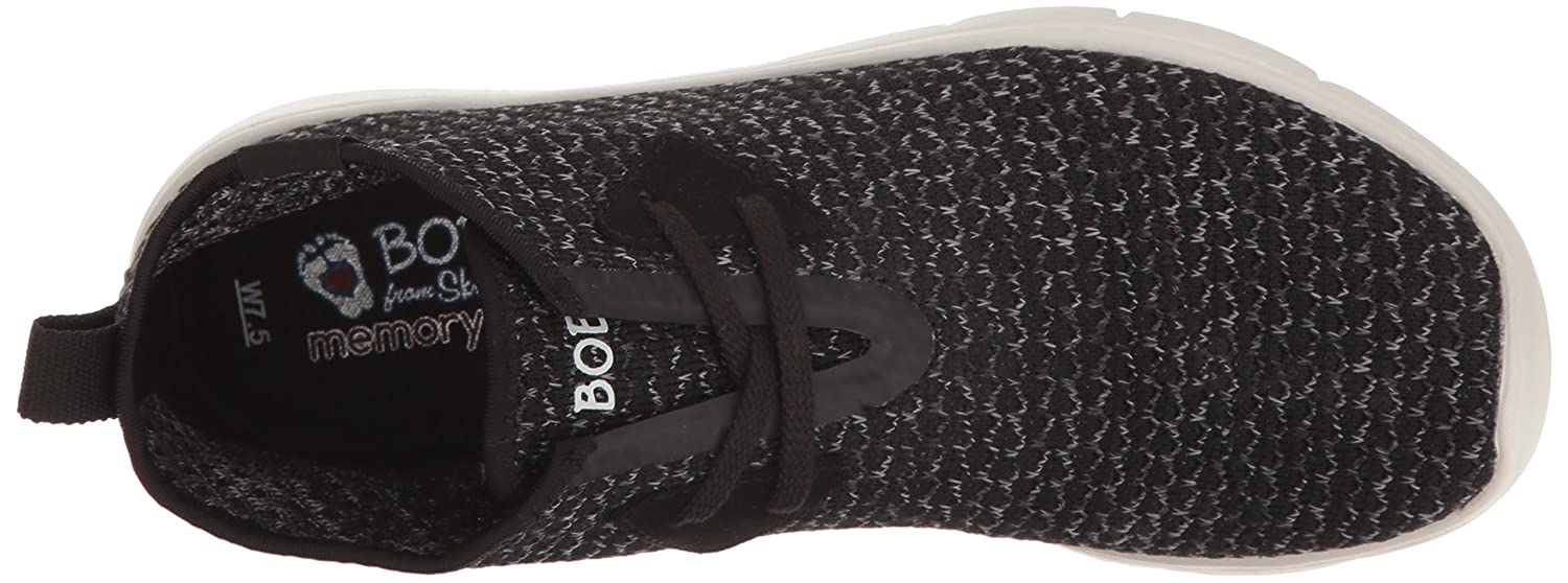 Skechers BOBS Flat from Women's Pureflex 2-Knockoutz Flat BOBS B005AEFF74 8 B(M) US|Black/Gray e9f06f