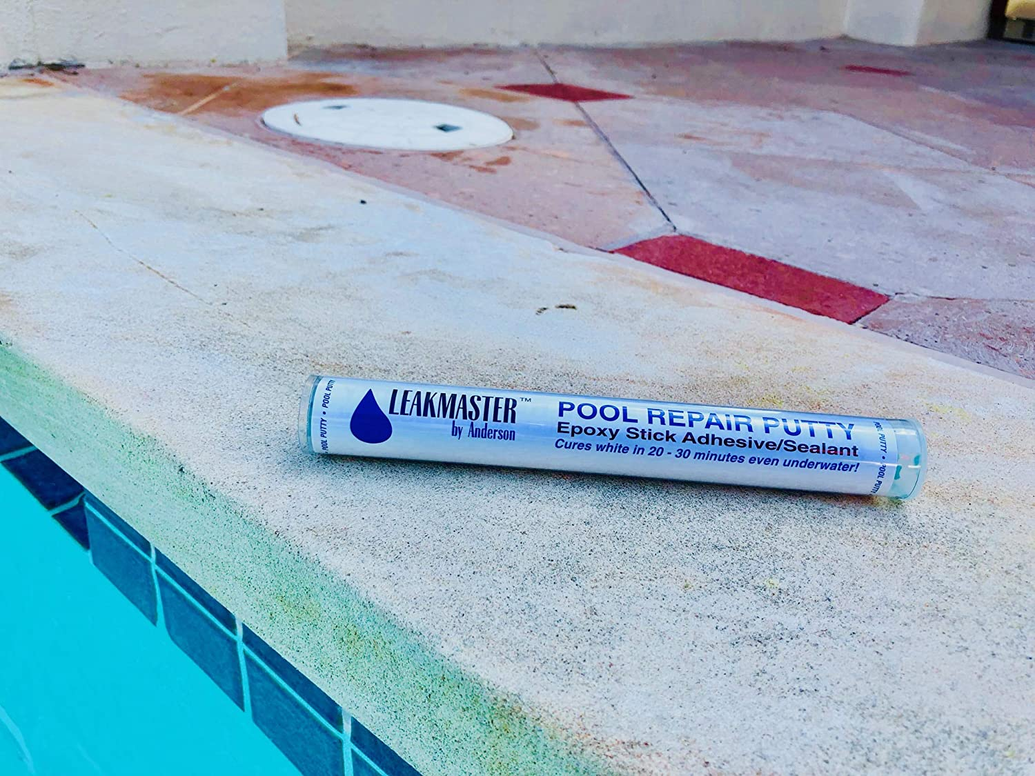 Amazon.com : Leakmaster Epoxy Stick Pool Repair Putty PP701 ...