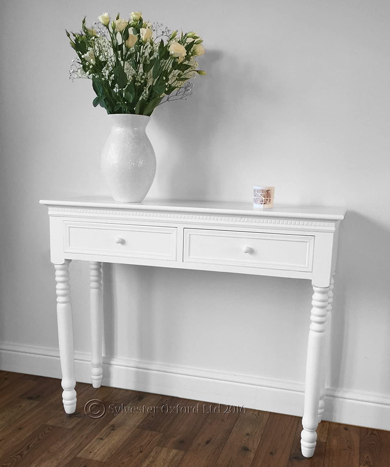 hall console table white. Hall Console Table White