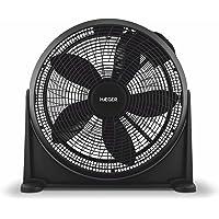 HAEGER Hover Plus - Ventilador de Suelo Semi-industrial , 3 Velocidades, 70W, Inclinación 180º, Silencioso