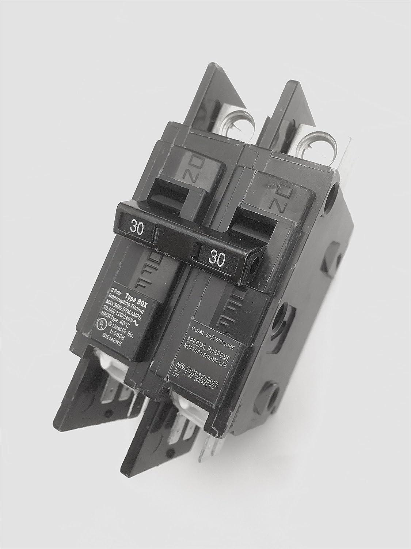 BQ2B020 SIEMENS 2 POLE 20A 240VAC BOLT-ON CIRCUIT BREAKER NEW