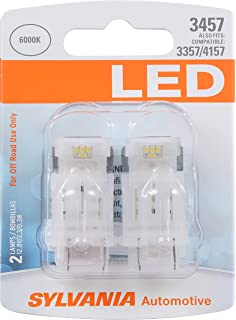 SYLVANIA 3457 White LED Bulb, (Contains 2 Bulbs)