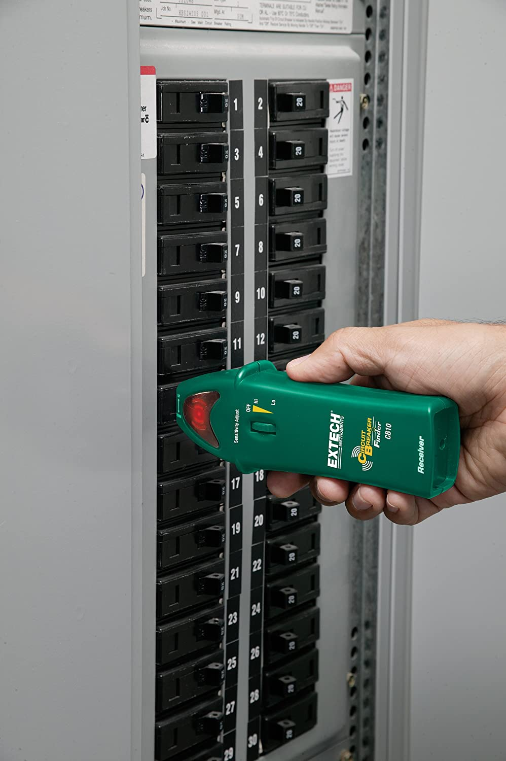 Extech CB10 Circuit Breaker Finder - Circuit Testers - Amazon.com