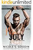 Mr. July: An MMA Sports Romance (Calendar Boys Book 7)