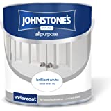 Johnstone's 303904 2.5 Litre All Purpose Undercoat Paint - Brilliant White