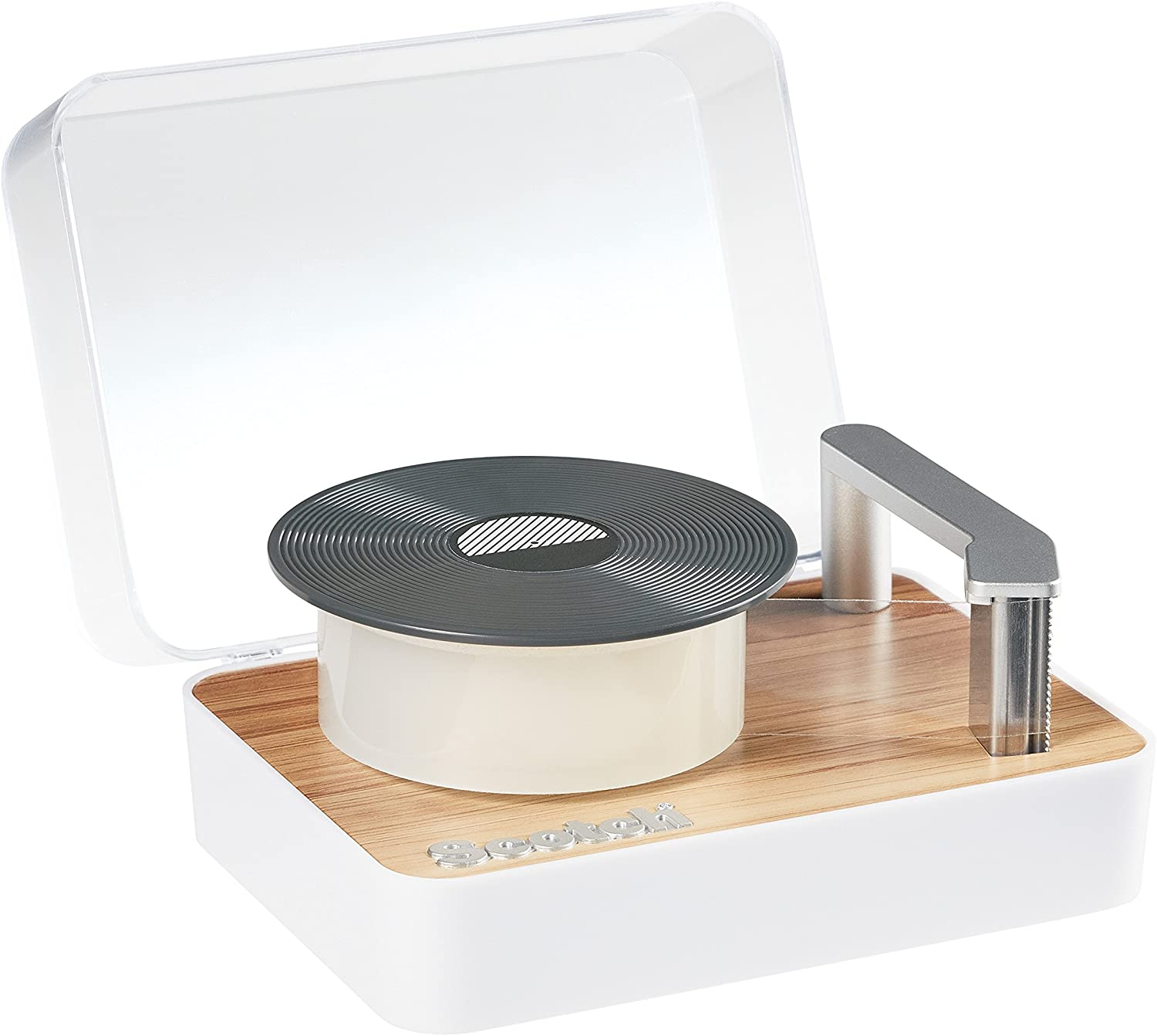 Scotch Magic Tape Dispenser, Record Player (C45-RECORD) : Office Products