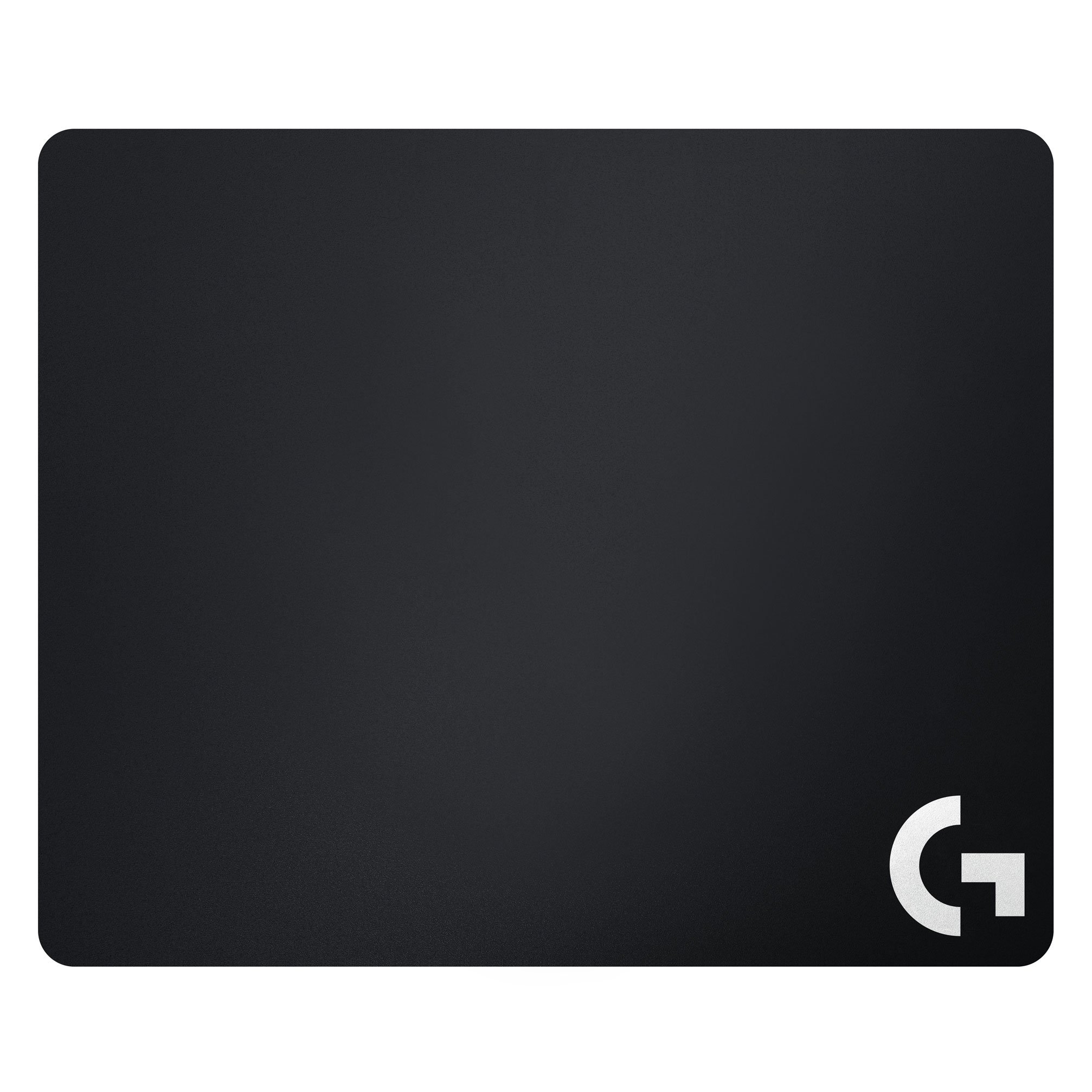 Logitech G640 Cloth Gaming Mouse Pad, 460 x 400mm, Thickness 3mm, Moderate surface friction, Consistent surface texture, Stable, comfortable rubber base, Rollable - Black