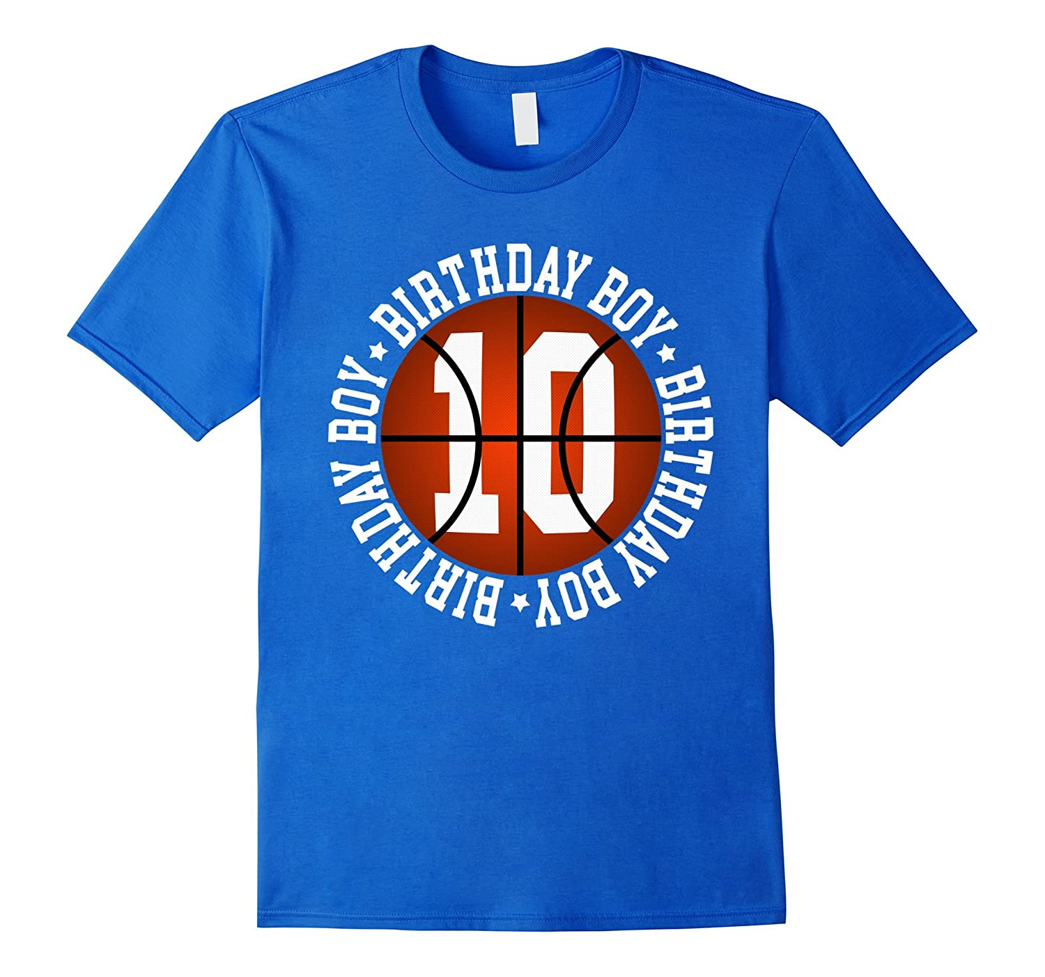 10th Birthday Boy Basketball T Shirt 10 Year Old Baller ANZ