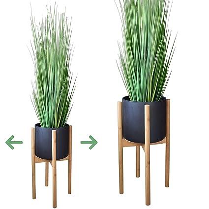 465bb85aee57 Amazon.com: Taste of Tropical Mid Century Plant Stand - Adjustable 8