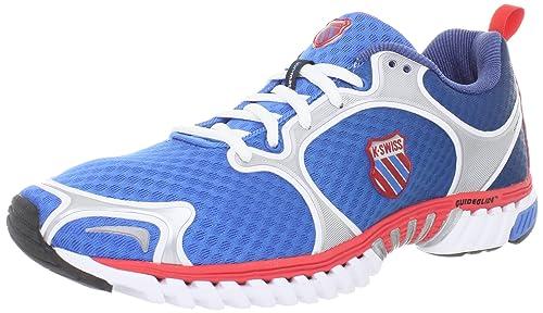 K-Swiss - Zapatillas de Running de material sintético Hombre: Amazon.es: Zapatos y complementos