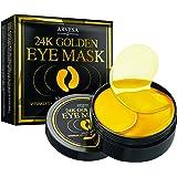 Under Eye Collagen Patches - 24K Gold Eye Mask Anti-Aging Hyaluronic Acid - Under Eye Mask for Reducing Dark Circles & Puffy