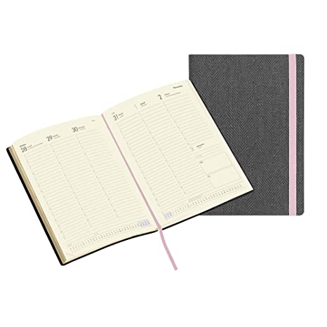 Amazon.com : 13 Month 2020 - Grey Tweed DOCENT Agenda ...