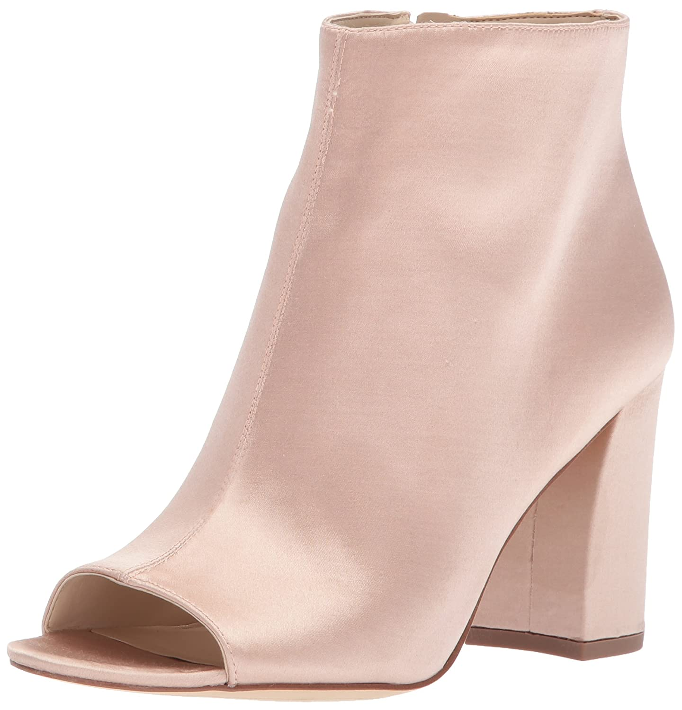Nine West Women's Haywood Satin Ankle Boot B06ZY6QZ66 6 B(M) US Light Natural