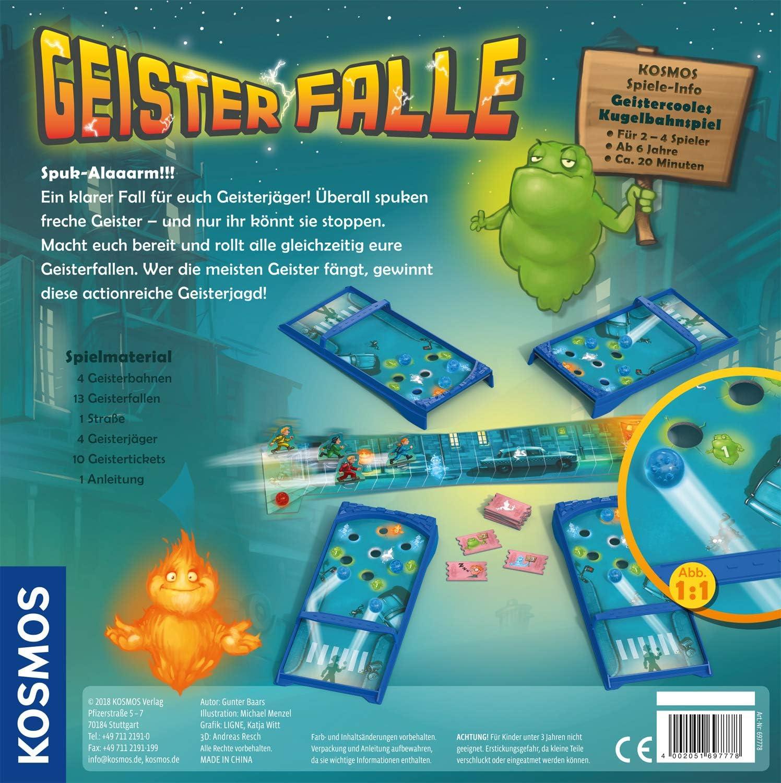 GeisterfalleKOSMOS 697778 Neu /& OVPKugelbahnspielGesellschaftsspiel