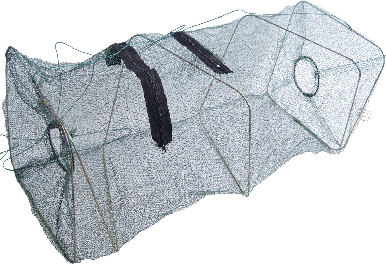 Kleinfischreuse S 6200098 K/öderfische Aal Krebs 23x23x55 cm lang