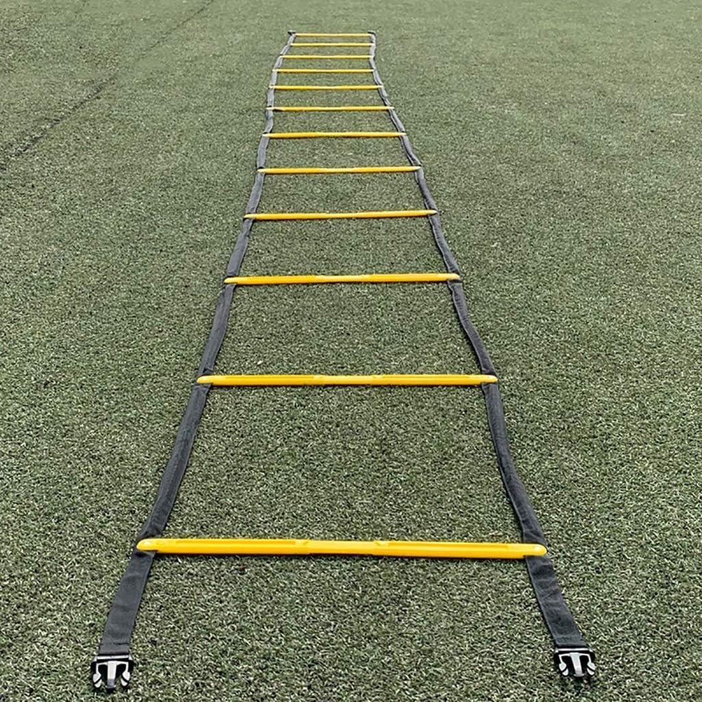 Xin Escalera ágil Tipo Fijo Escalera Suave Escalera de Cuerda Escalera Sensible Escalera de Velocidad Escalera de Entrenamiento de Ritmo Equipo de Entrenamiento de Baloncesto: Amazon.es: Deportes y aire libre