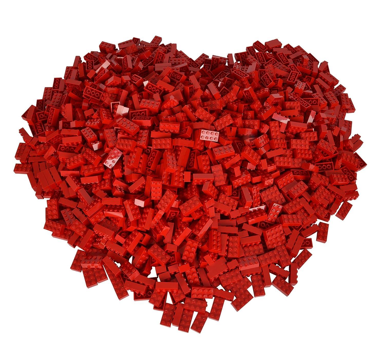 Simba 104118922 - Blox 500 rote 8er Bausteine B01C2YBEY2 Bauklötze & Bausteine Neues Produkt | Hochwertige Materialien