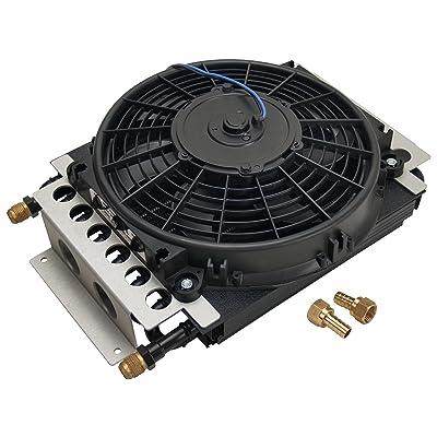 Derale 15800 Electra-Cool Remote Cooler,Black: Automotive