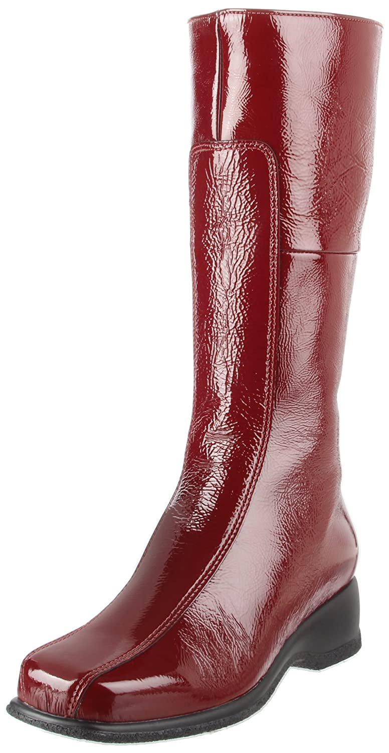 La Canadienne Women's Blanche Boot B004S8QRU2 6 XW US|Cherry Patent