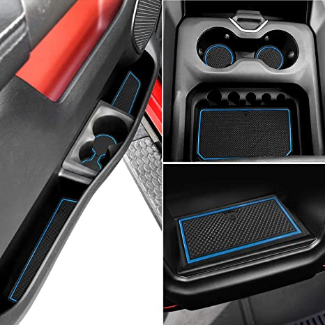 Ram 1500 Accessories >> Auovo Anti Dust Mats For Dodge Ram 1500 2019 Interior Accessories Custom Fit Door Compartment Cup Center Console Liners Quad Cab With Bucket