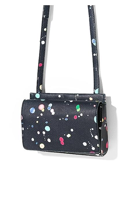 Splatter Bolsa Dallas 71x9ee0Amazon De New Hombro Desigual Mujer 80nOXwPk