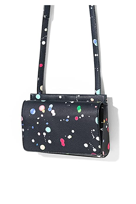 Desigual Mujer Bolsa Splatter De Hombro Dallas 71x9ee0Amazon New 6byf7g