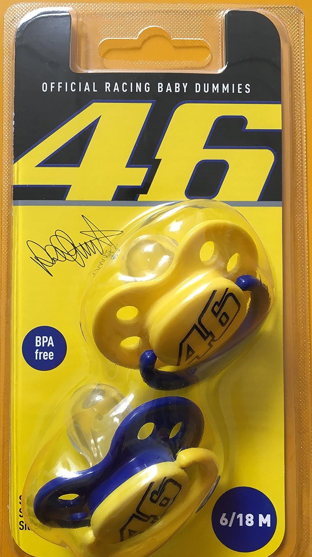 Lote de 2 Chupetes 2016 Oficial Valentino Rossi de MOTO GP VR46 ...