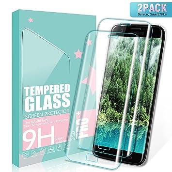 SGIN Protector de Pantalla Galaxy S7 Edge, [2 Pack] 3D Touch Compatible Cristal