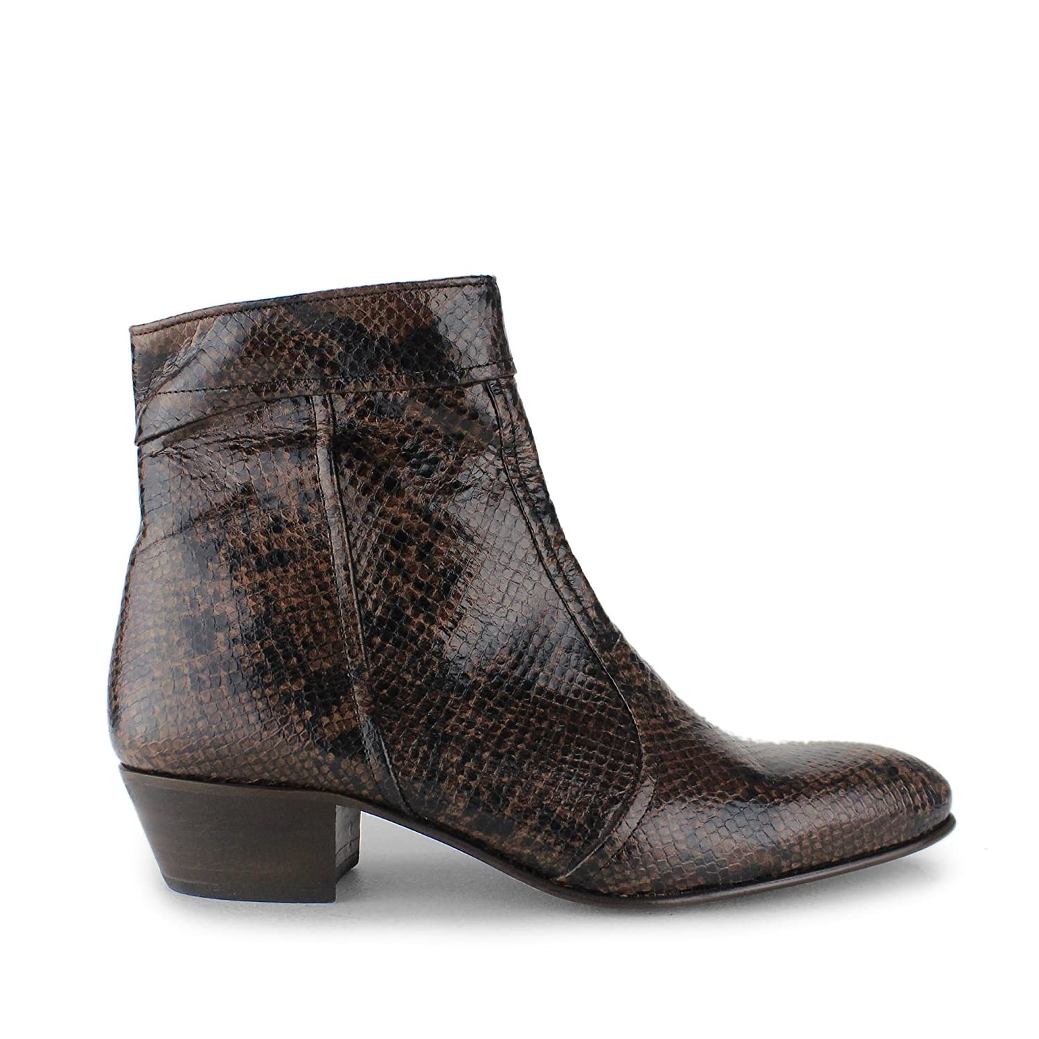 4b548f366573 Club Cubano Emmanuel Mens Snakeskin Leather Cuban Heel Boots: Amazon.co.uk:  Shoes & Bags