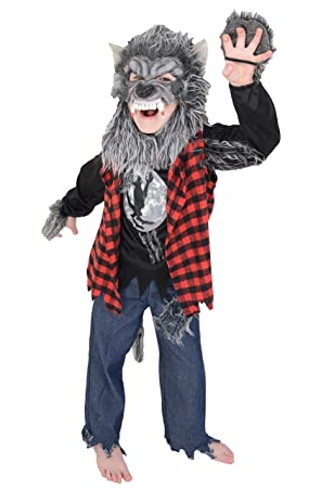 Childrenu0027s Kids Boys Werewolf Halloween Fancy Dress Costume (4-5 Years)  sc 1 st  Amazon UK & Childrenu0027s Kids Boys Werewolf Halloween Fancy Dress Costume (4-5 ...