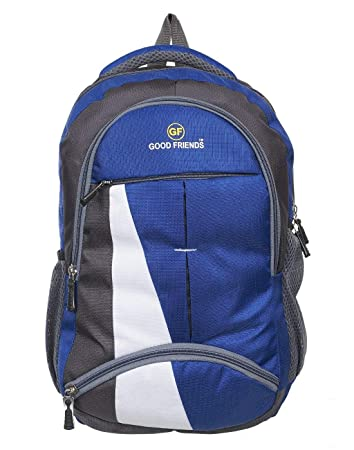 Good Friends Polyester 15.6 Inch Expandable Laptop Backpack(Waterproof)   Amazon.in  Bags a44ab9726edb5