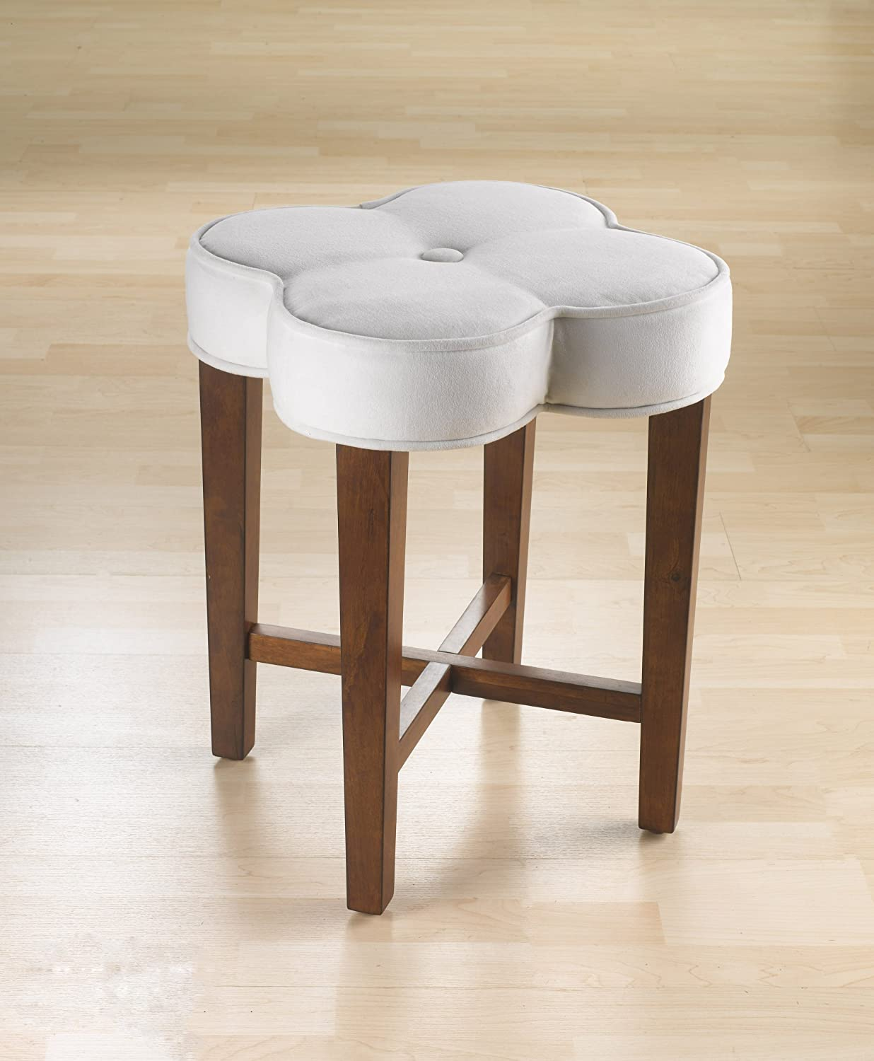 & Amazon.com: Hillsdale Clover Vanity Stool: Kitchen u0026 Dining islam-shia.org
