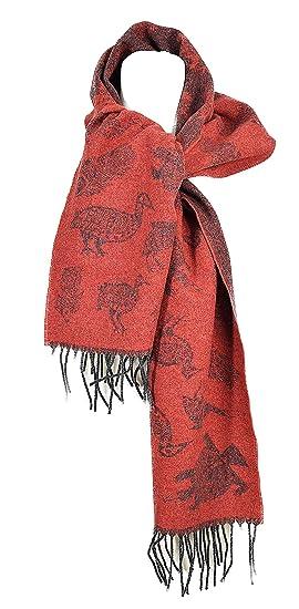 ede80ed60bce Madame Dutilleul - Echarpe Animaux rouge  Amazon.fr  Vêtements et ...