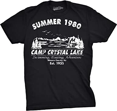Amazon.com: Mens Summer 1980 Mens Funny T shirts Camping Shirt ...