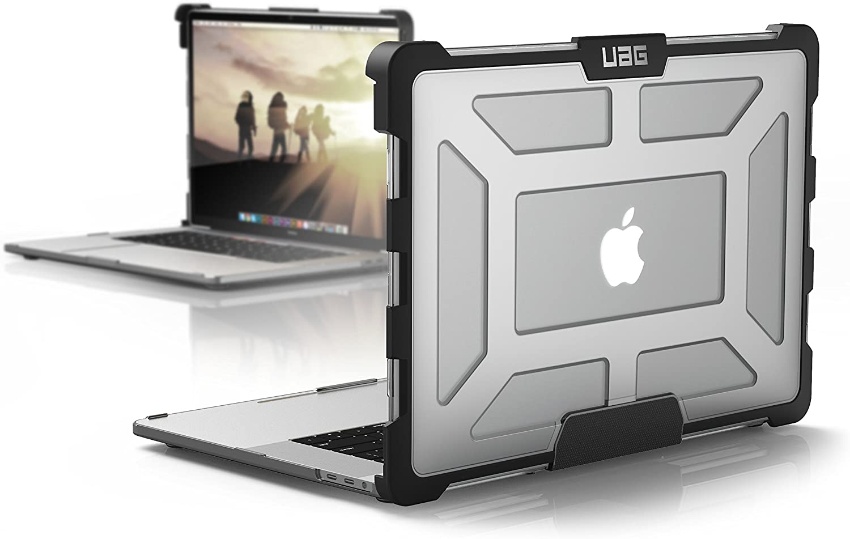 Urban Armor Gear Plasma para Apple MacBook Pro 15.4 (Late 2016 - Mid 2018) Funda con estándar Militar Estadounidense Case - Transparente