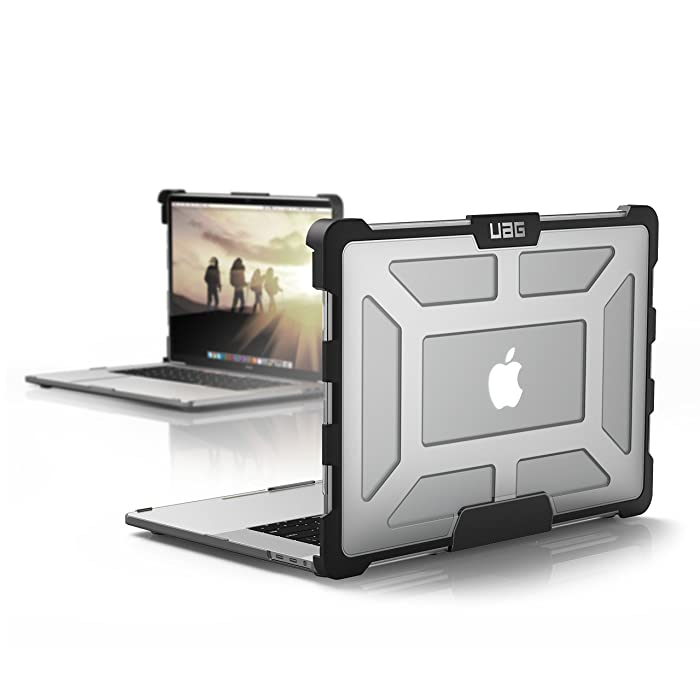 UAG MacBook Pro 15-inch with Touch Bar (4th Gen, 2016-2018) Feather-Light Rugged [Ice] Military Drop Tested Laptop Case