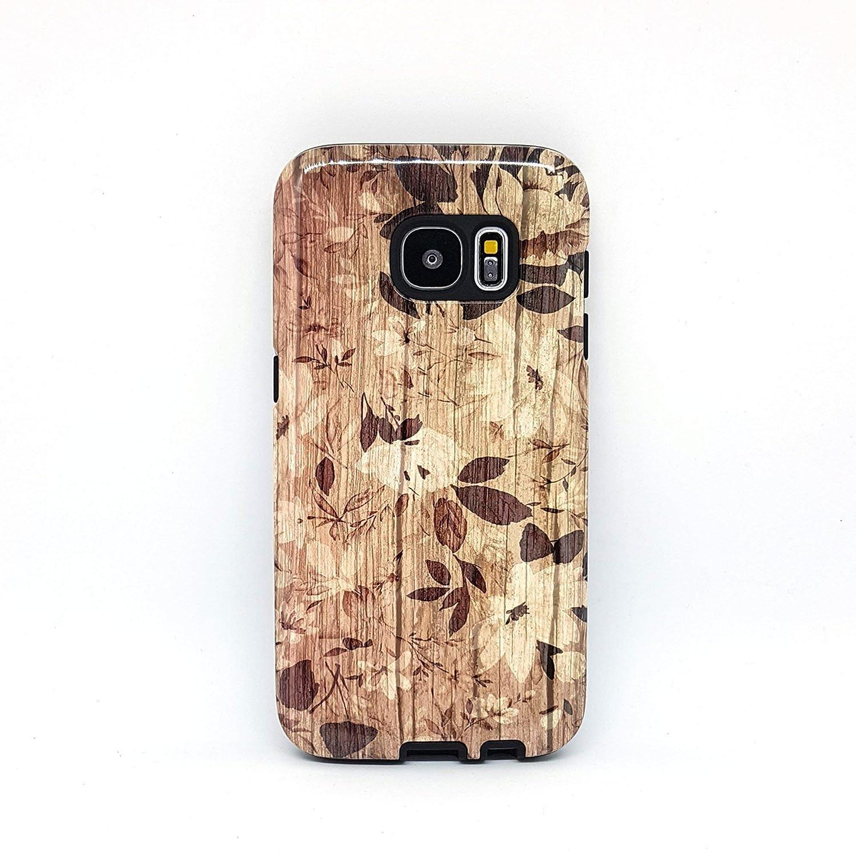 XS 8 plus 8 X Fiori Legno cover case custodia per iPhone 5 per Galaxy S6 SE S7 6 S8 5s 6s 7 plus 7