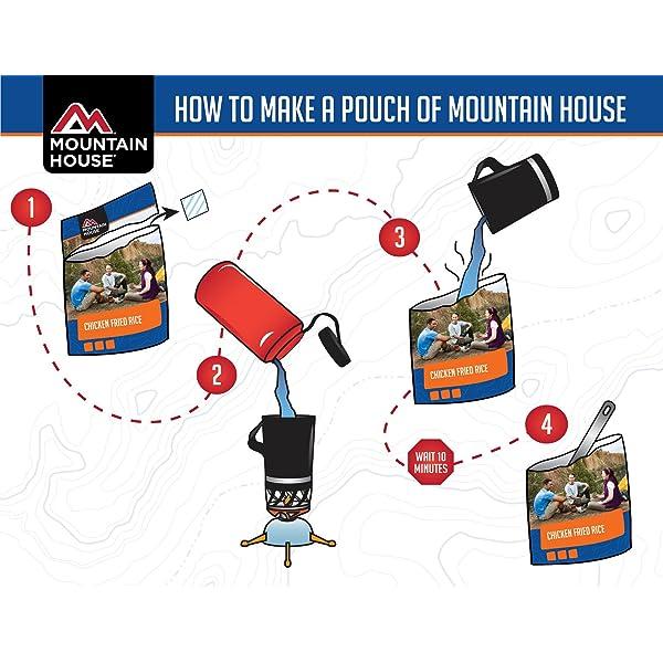 MOUNTAIN HOUSE ESTILO MEXICANO ARROZ Y POLLO