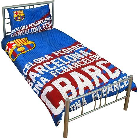 Amazon.com: FC Barcelona 2016 Single Duvet Cover Bedding Set ...