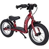 bike*star 30.5cm (12 pulgada) Bicicleta sin pedales para niños - Clásico - Rojo