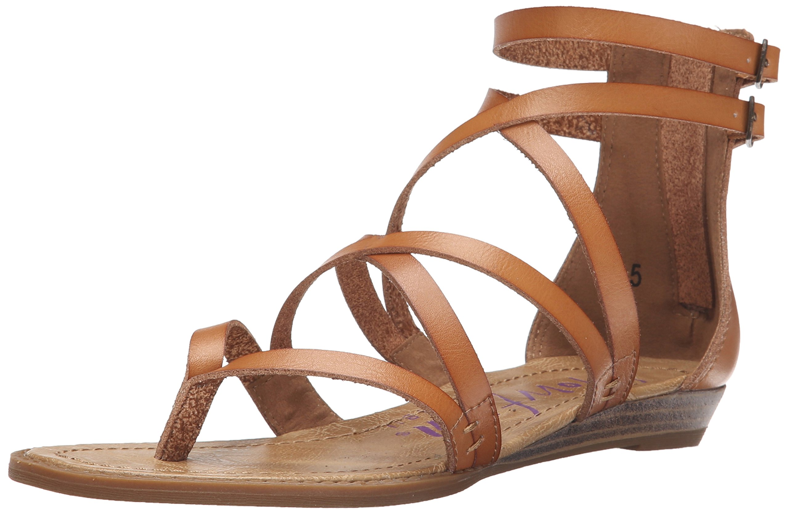 Blowfish Women's Bungalow Sandal, Sand, 7.5 M US