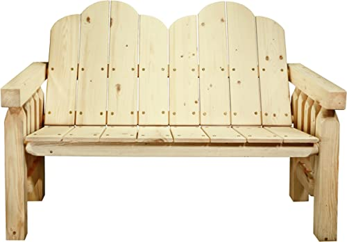 Montana Woodworks Homestead Collection Deck Bench