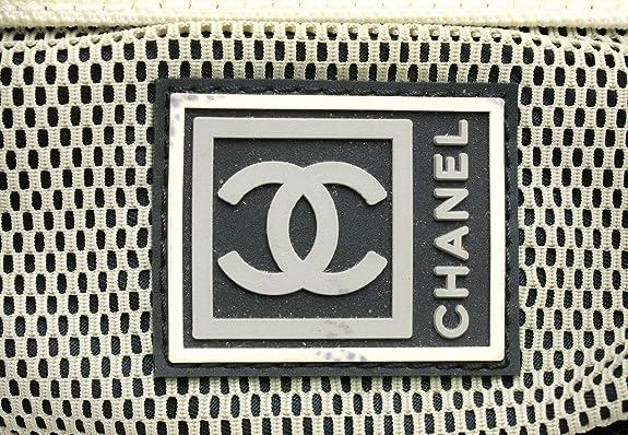 49cbd23f501a Amazon | [シャネル] CHANEL スポーツライン 2WAYバッグ ウエストバッグ ボディバッグ ハンドバッグ ロゴ ココマーク 青 ブルー  白 ホワイト グレー A27892 ...