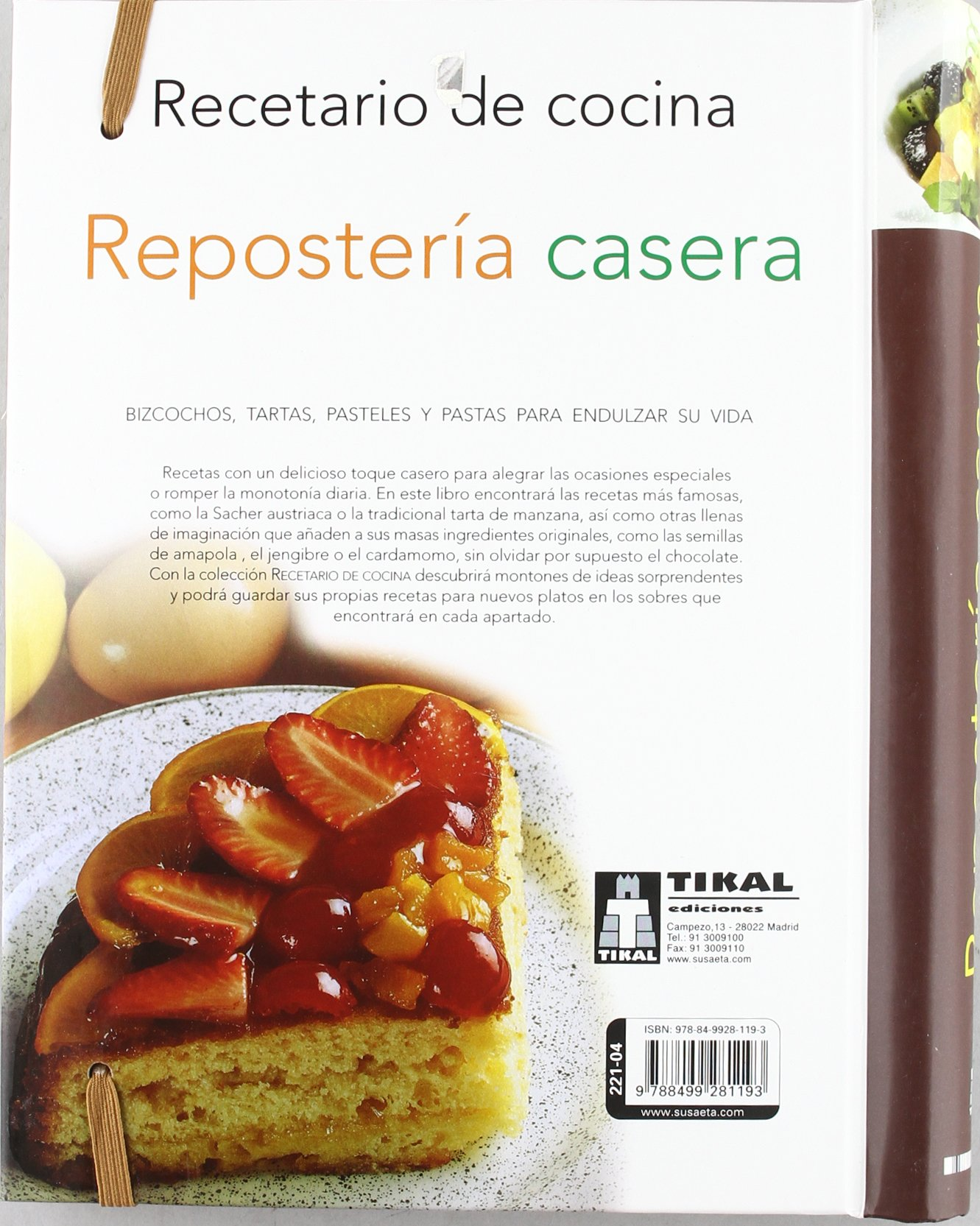 Repostería casera / Homemade pastries (Spanish Edition): Susaeta Ediciones: 9788499281193: Amazon.com: Books