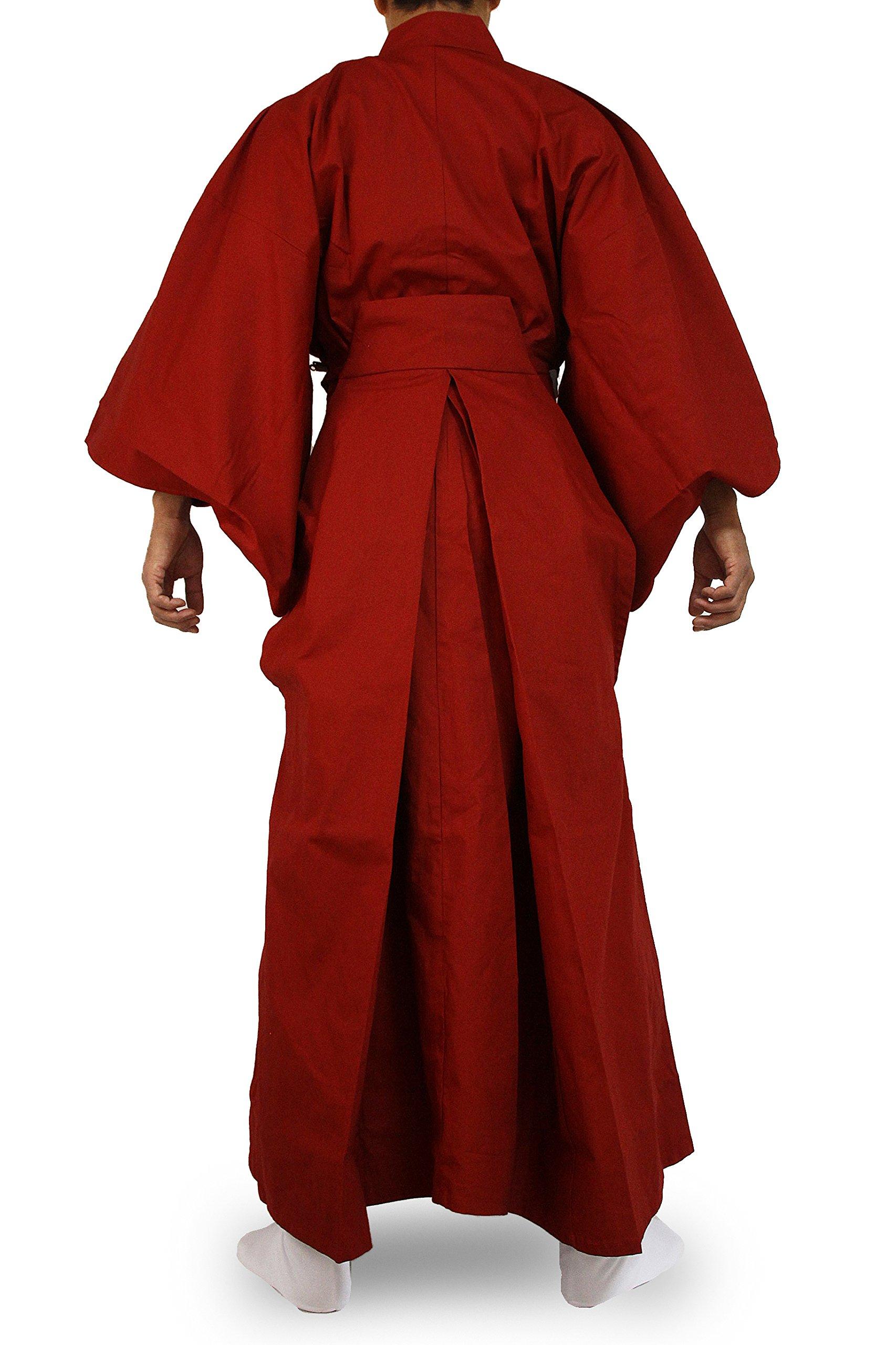 Edoten Japanese Samurai Hakama Uniform RD-RD L by Edoten (Image #4)