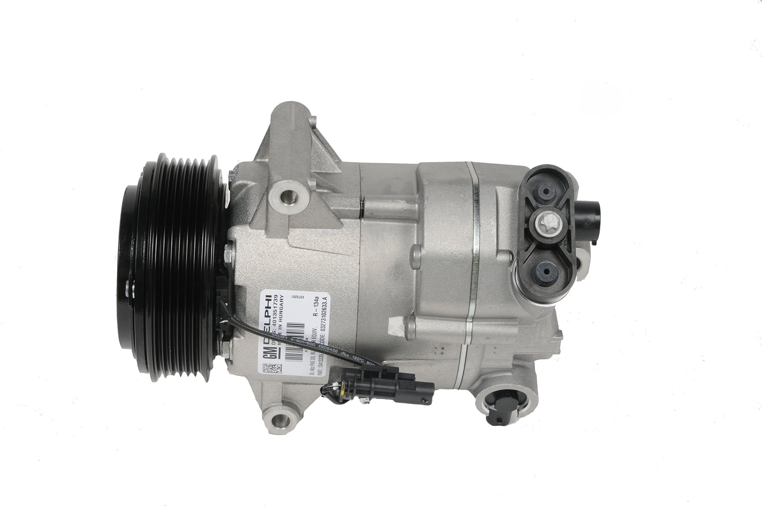 GM Genuine Parts 15-22291 Air Conditioning Compressor and Clutch Assembly