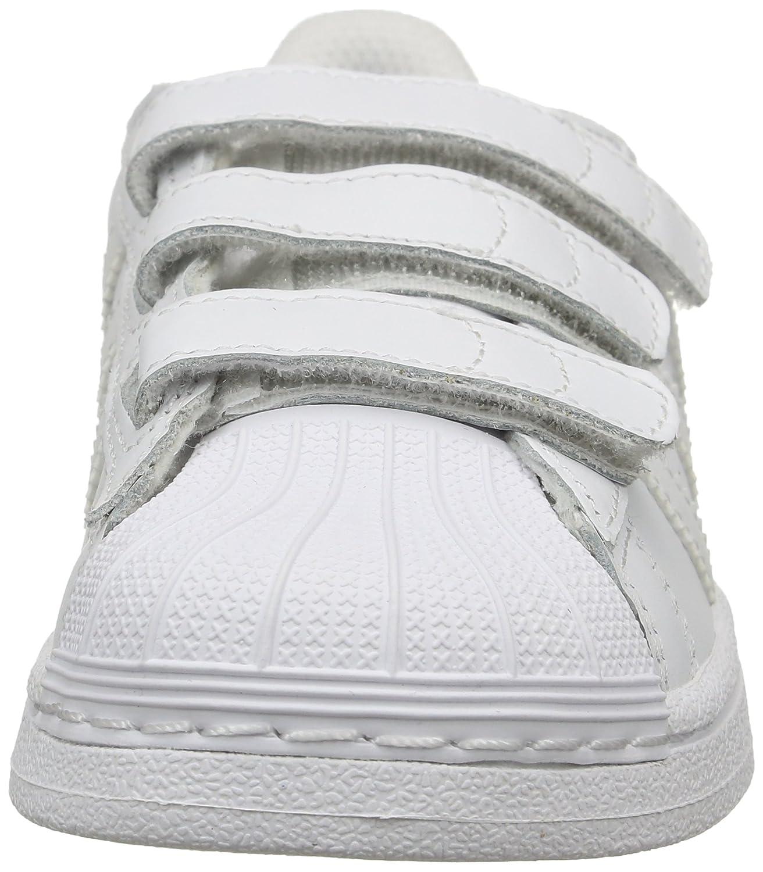 adidas Originals Girlss Superstar Foundation Trainers US2.5 White