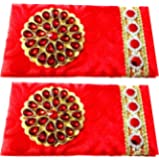 Artshai Wedding And Other Occasions Shagun Envelope(Velvet)