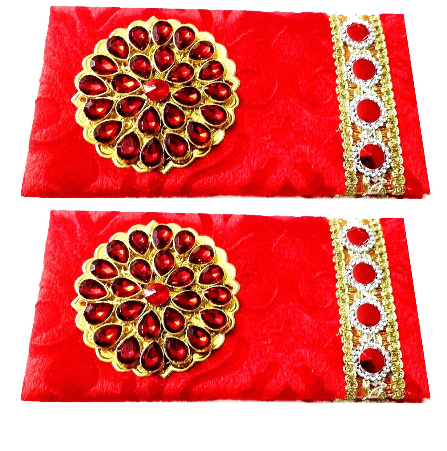 Buy Artshai Wedding And Other Occasions Shagun Envelope(Velvet ...